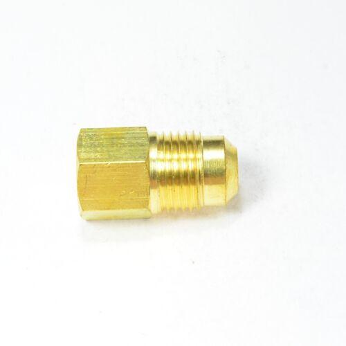 3/8 Male Flare Sae 45 Mfl to 1/4 Npt Female Pipe Adapter Propane Natural Gas RV