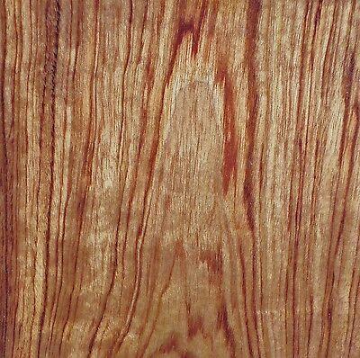 African Bubinga Kewazinga Wood Veneer 12 X 19 No Backing Raw Veneer 132 Aa