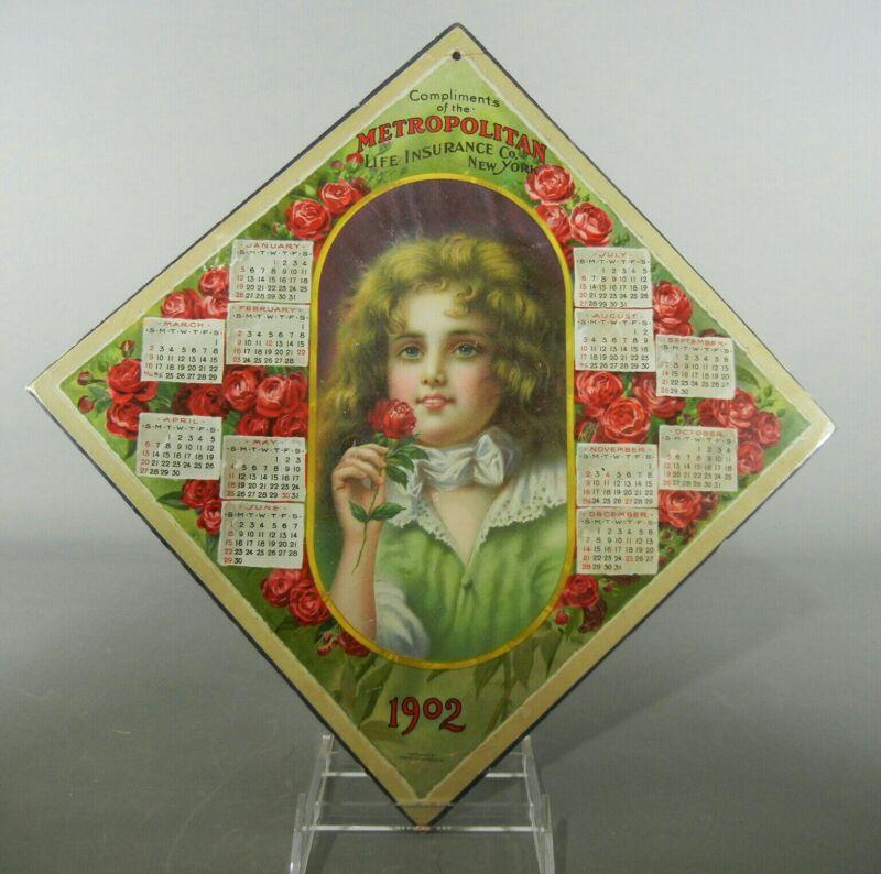 1902 Metropolitan Life Insurance Calendar