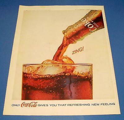 1962 Coca-Cola Original Print Ad ~ Old Grand-Dad Whiskey