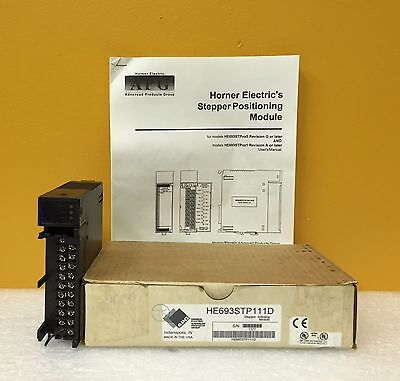 Horner Electric (APG) HE693STP111D (SPM30), Stepper Indexing Module, New in Box