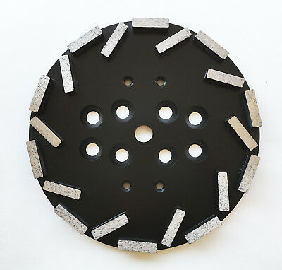 New 10 Concrete Grinding Head Disc Plate For Edcomkblastrac Hus... Grinders