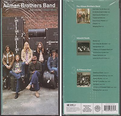 ALLMAN BROTHERS BAND Chronicles Self Titled/Idlewind South/Live at Fillmore