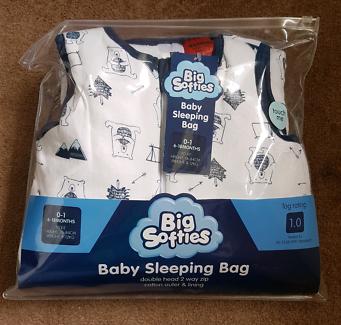 Big softies baby sleeping bag 6 - 18 mnths NEW