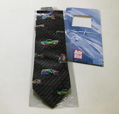 Krawatte, reine Seide, BMW  Designer Chris Bangle Auto-Bild-Edition 2000,
