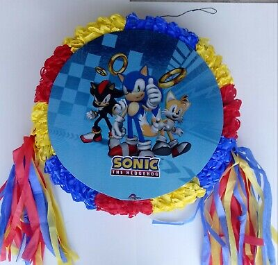 Sonic the Hedgehog Pinata~ Birthday Party  Game ..FREE SHIPPING