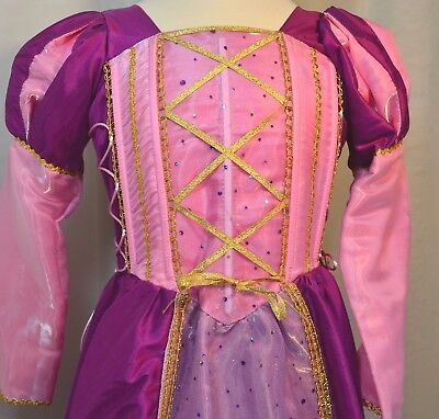 Girl Princess Costume, gorgeous pink dress - Size 4-5, Movie inspired dress - Pink Girl Movie