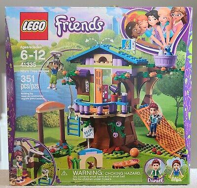 Lego Friends 41335 Mia's Tree House New, Sealed