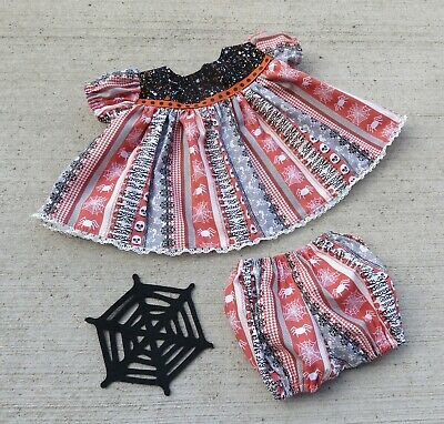 Doll Dresses For Halloween (Handmade Doll Clothes for 18