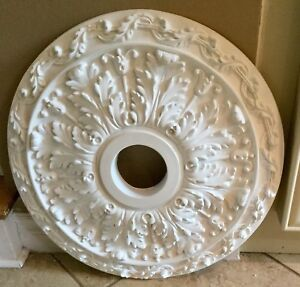 "Ceiling Center Medallion (19"" across - hole 3  3/4"")"