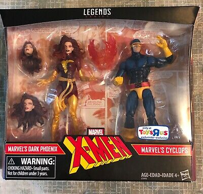 Marvel Legends X-MEN Dark Phoenix and Cyclops 2 pack Toys R Us Exclusive MIB