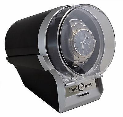 Watch Winder Diplomat Case Box Storage Timer  Automatic Single  Diplomat