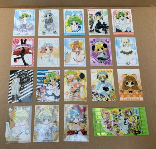 Di Gi Charat Second Party!! Trading Cards Lot of 18 JAPAN