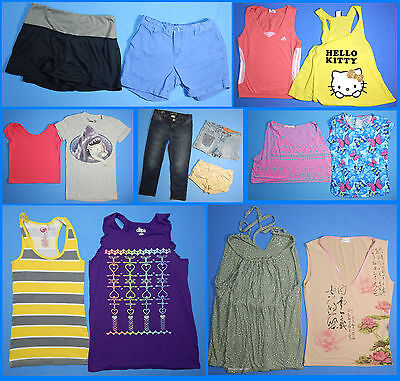 15 Piece Lot of Nice Clean Girls Size 14 Spring Summer Everyday Clothes ss58 - Nice Girls Clothes