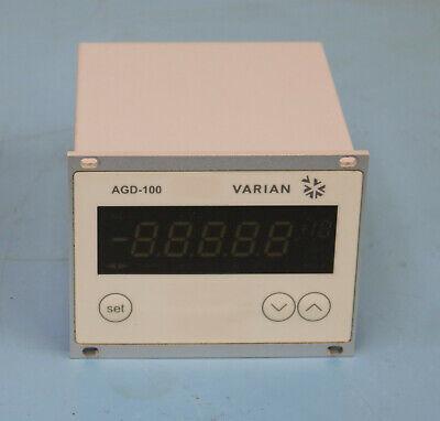 Agilent Varian Agd-100 Active Gauge Digital Display Unit Single Channel