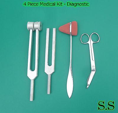 4 Piece Medical Kit Emt Nursing Surgical Ems Student Paramedic Sr-519