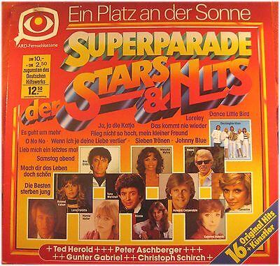Superparade der Stars & Hits, Ein Platz an der Sonne,  VG/VG,  LP (5607)