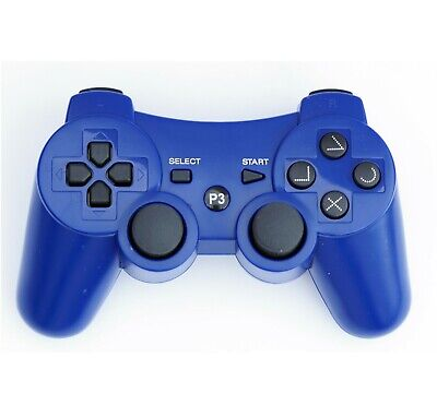 Wireless Remote PS3 Controller Gamepad for use with PlayStation3 Blue for sale  Shipping to Nigeria