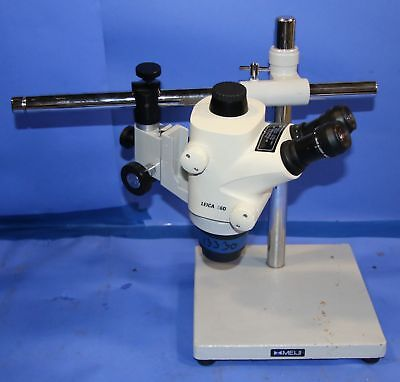 1 Used Leica S6d Stereo Zoom Microscope With 1 Pair Leica 10447137 Eye Piece