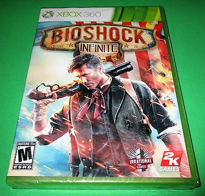 BioShock Infinite Microsoft Xbox 360 *Compatible w/ Xbox One! *Factory Sealed!, used for sale  Shipping to South Africa