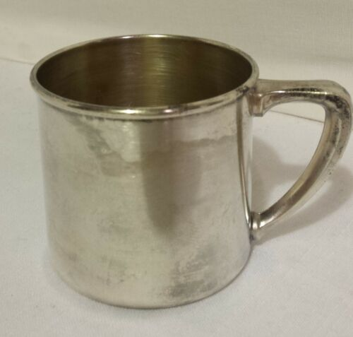 VINTAGE SILVERPLATE BABY CUP COMMUNITY by ONEIDA