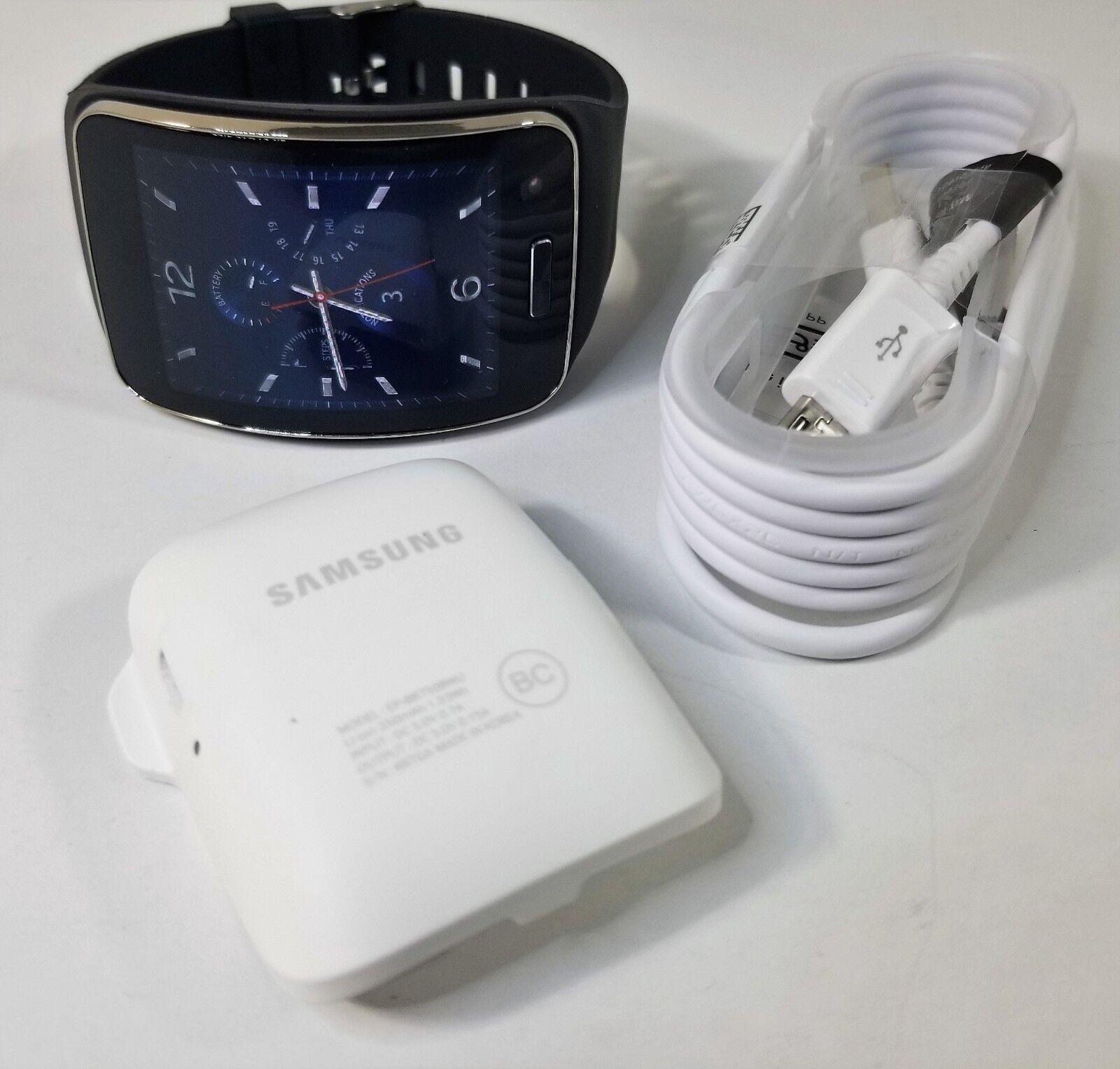 Samsung Galaxy Gear S SM-R750 Bluetooth Smart Watch - Black