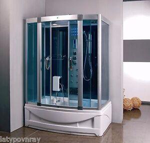 Steam-Shower-Room-With-deep-Whirlpool-Tub-BLUETOOTH-6-Year-USA-Warranty