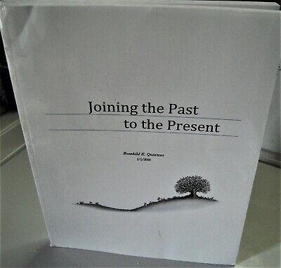 Quintero/Binkert/Linssen family history genealogy book by Bernhild E. Quintero