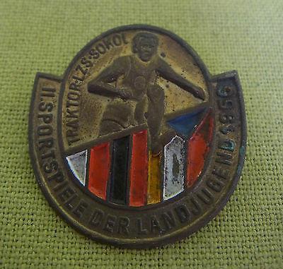 DDR Abzeichen - II. Sportfest der Landjugend 1956 - Traktor-LZS-Sokol