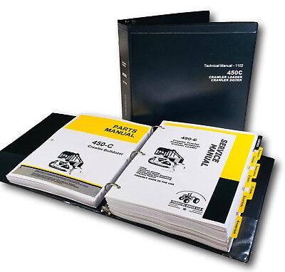 Service Parts Manual For John Deere 450c Crawler Bulldozer Shop Repair Set