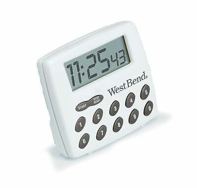 WEST BEND TIMER AND CLOCK LCD 2 FUNCTION CHANNEL 40005X