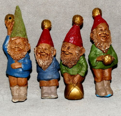 Christmas Figure GNOMES Tom Clark Cairn Elf WOODSPIRITS G N J E Lot 4 USA SELLER
