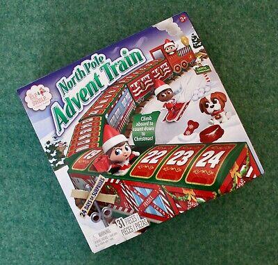 Elf On The Shelf Christmas 2020 North Pole Advent Calendar Train 24 Mini Figures