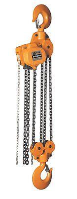 Magna Chain Hoists - 12 1 2 3 5 10 Ton Capacities W 10 15 20 Falls
