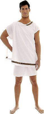 TOGA MALE COSTUME ROMAN GREEK GOD JULIUS CAESAR ZEUS ADULT MEN COSTUMES 28384 (Greek God Costumes)