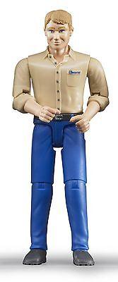 Bruder 60006  Bworld Figur Mann  mit hellem Hauttyp blaue Hose 1:16 Neuheit 2015