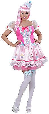 Sexy Candy Girl Cupcake Kostüm NEU - Damen Karneval Fasching Verkleidung - Damen Cupcake Kostüm