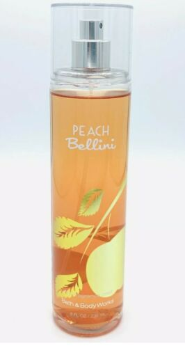 Bath Body Works Peach Bellini Perfume Fine Mist 8 Fl Oz Brand New HTF - $12.99