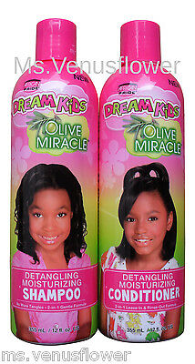 African Pride Dream bambini Oliva Shampoo & balsamo