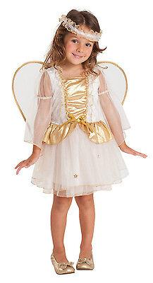 Mädchen Kleinkind Weiß Engel Kostüm Weihnachten Kostüm Outfit & Wings 2-3 Jahre