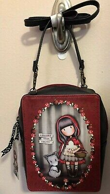 Santoro London Gorjuss Bag New Purse Red Riding Hood Collection](Red Riding Hood Purse)