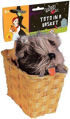 Der Zauberer Von OZ Toto IN Korb Dorothy Film Kostüm Verkleidung Zubehör