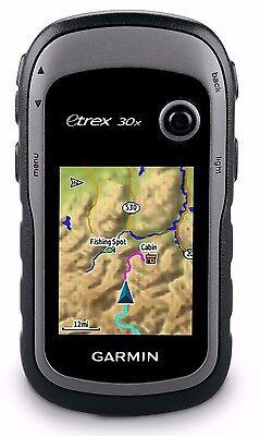 Garmin Etrex 30X Handheld Hiking Gps 2 2  Display Worldwide Basemap 010 01508 10