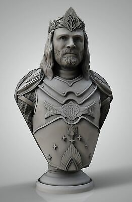 Aragorn The King Bust - Lord of The Rings - Eastman - Fantasy