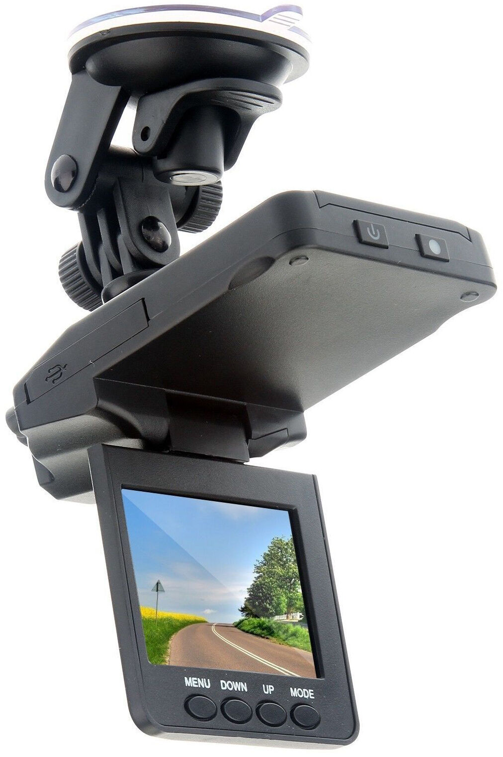 The dvr 027 is a compact user friendly device capable of filming in 720p it has a 120 degree viewing angle a small screen on the camera displays black