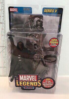 """Marvel Legends 6"""" BLADE Series V Action Figure 2003 ToyBiz NEW Wesley Snipes"""
