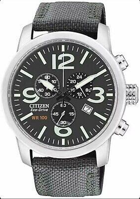 Citizen Gents Eco-Drive Calibre H500 S078814 Chronograph Watch AT2100-09E