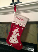 Pottery Barn Bell Stocking