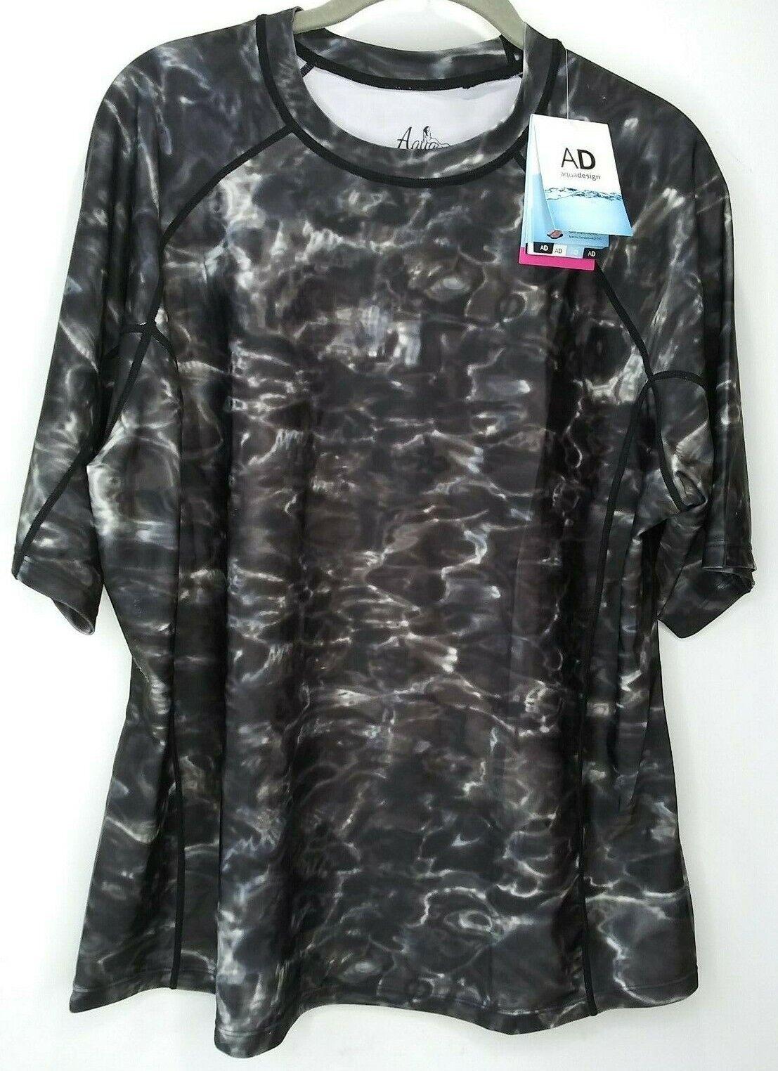 new sunguard rash guard shirt sz 2xl