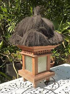 BALINESE THATCH LIGHT / LAMP Mooloolaba Maroochydore Area Preview